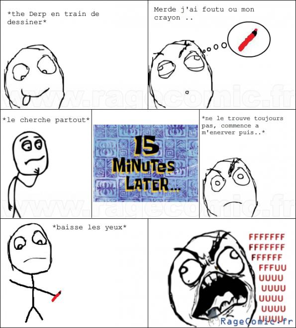 Crayon perdu