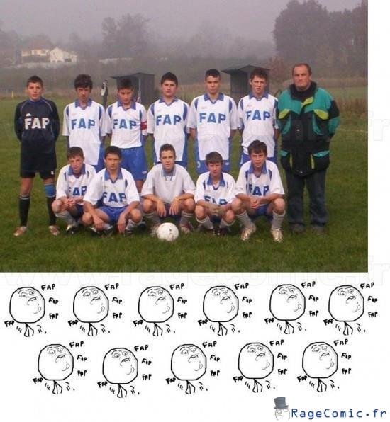 Equipe de fapball