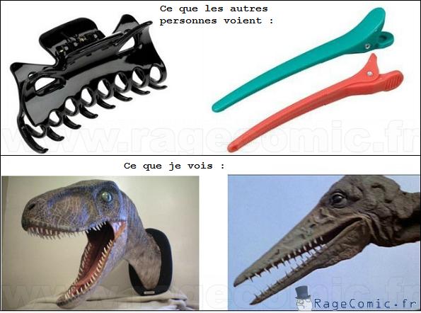 Pinces dinosaures
