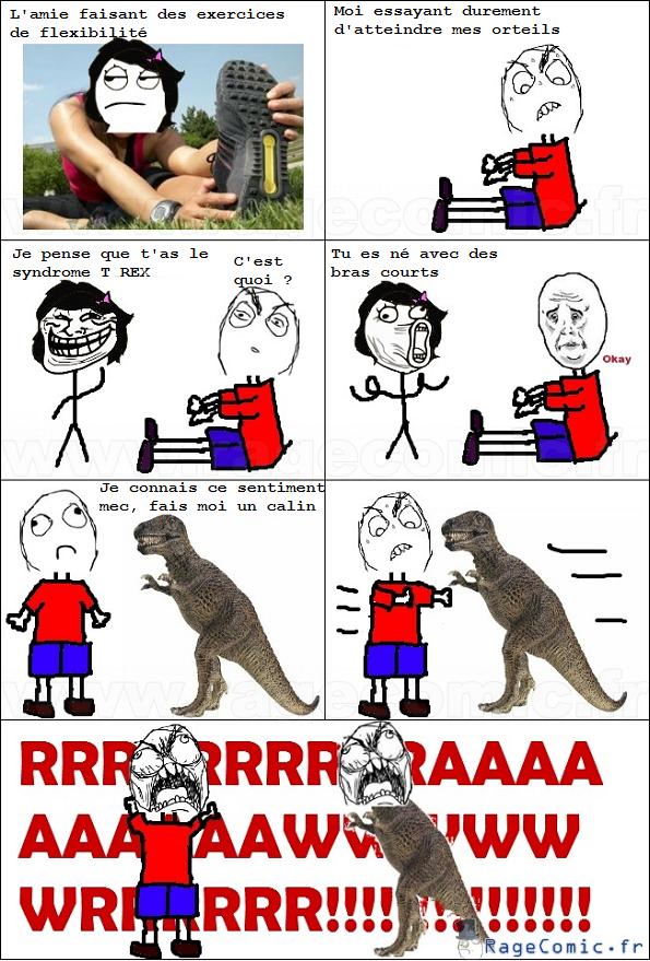 Bras de t-rex