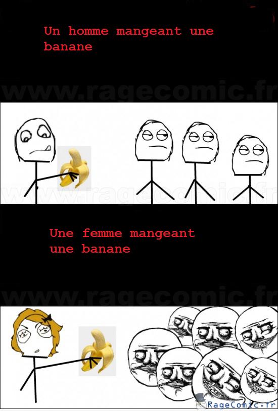 Manger une banane, me gusta