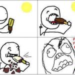 Manger une glace