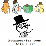 Pokemon like a sir