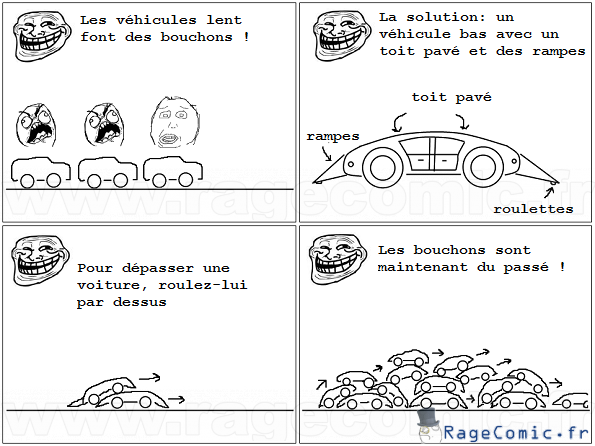 Solution anti bouchons