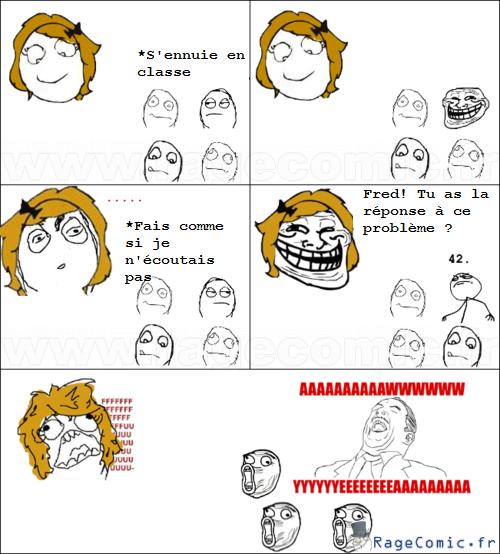 troll de prof aww yea guy rage comics francais troll face