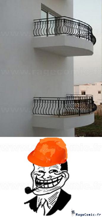 Balcon utile