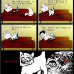 Chat envahissant