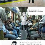 Troll dans le métro