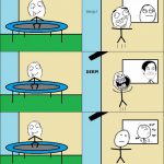 Découverte sur trampoline