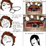 Gens qui dorment au bar