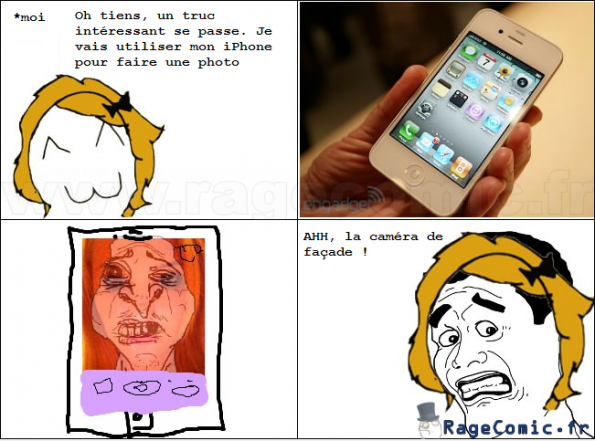 iPhone Rage