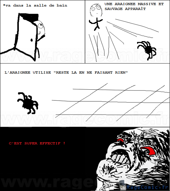 J'ai peur !