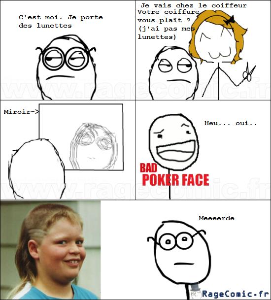 Mettez vos lunettes chez le coiffeur