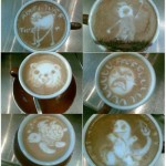 Memes dans le café