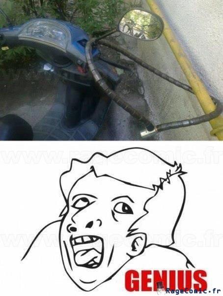 Scooter en sécurité
