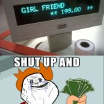 Combien pour une petite amie