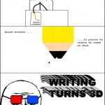 Ecrire en 3D