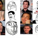 Jim Carrey rage faces
