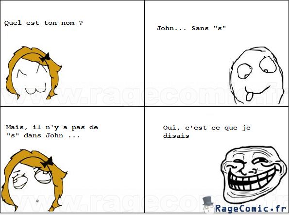 John sans s
