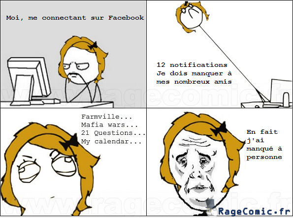 Quand j'ouvre Facebook