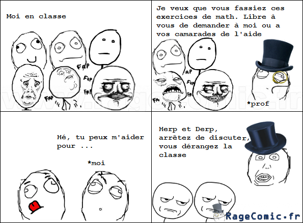 prof d bile are you fucking kiding me rage comics francais troll face. Black Bedroom Furniture Sets. Home Design Ideas