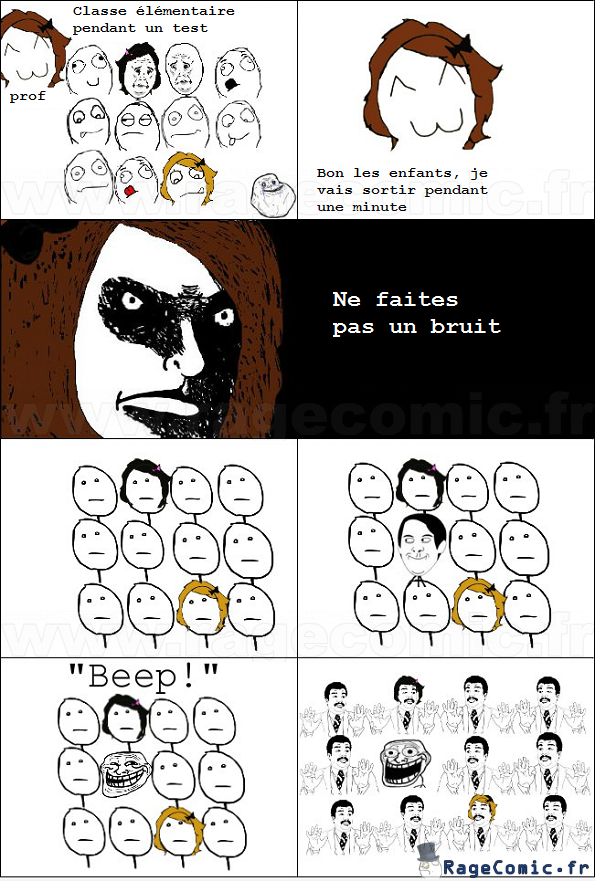 Silence en classe