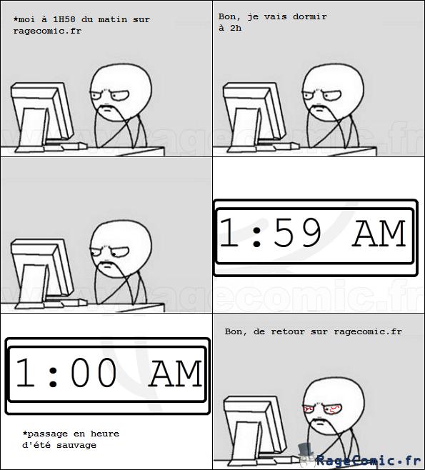 Je me couche à 2h