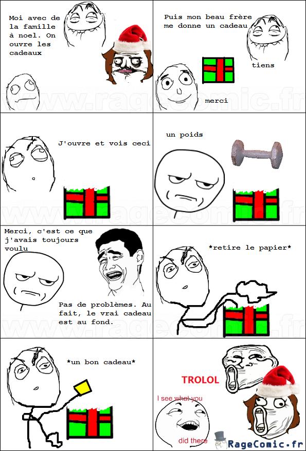Cadeau troll