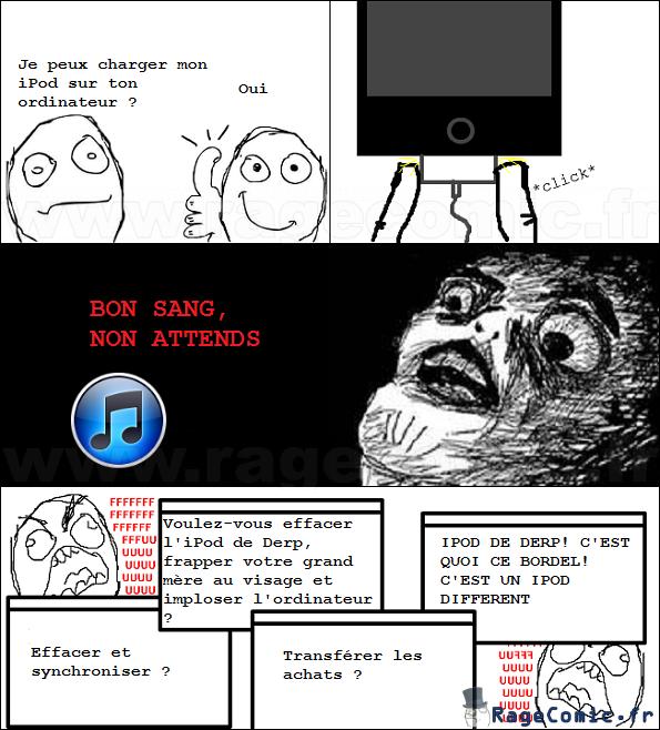 Rage iPod