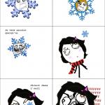 Rage flocon de neige