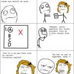 Prof de math stupide