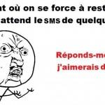 Attente de SMS