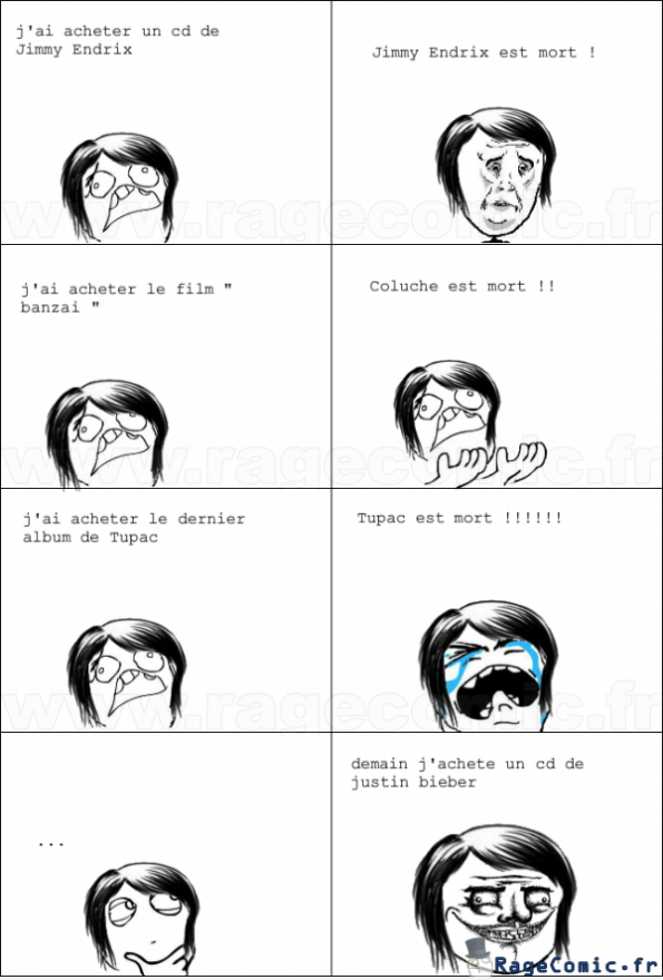 je porte malheur me gusta rage comics francais troll face. Black Bedroom Furniture Sets. Home Design Ideas