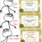 Les diplômes de Derp