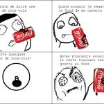 La canette de coca-cola
