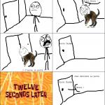 Saloperie de chat !