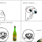Me gusta bouteille