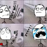 Le pire qui peut arriver quand on est au WC