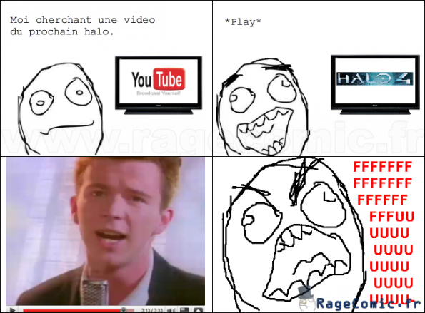 RickRolled