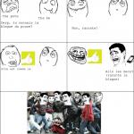 Les blague violentes