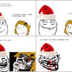 Trollé par le père Noël
