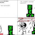 Creeper mon ami