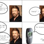 ... vs Chuck Norris