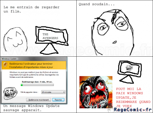 Windows Update troll