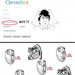 Cleverbot et la logique