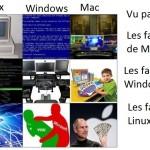 Linux Windows mac