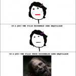 Avec et sans maquillage
