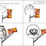 Les chips...