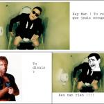 Psy VS Chuck Norris
