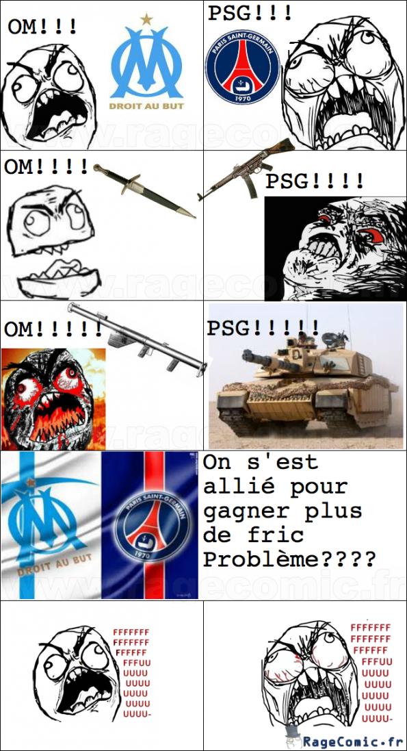 Ribéry et sa petite blague sur le PSG